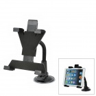 Car Swivel Mount Holder w/ Suction Cup for Tablet PC + Ipad - Black