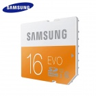Samsung MB-SPAGC 48MB/s SD Memory Card - Silver + Orange (16GB / Class 10)