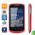 "Tesveden T101 Android 4.0 GSM Phone w/ 3.5"" Capacitive Screen, Quad-Band, Wi-Fi and Dual-SIM - Red"