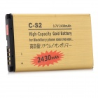 do-S2-GD 2430mAh 3.7V Batería de Litio de repuesto para Blackberry C-S2-dorado
