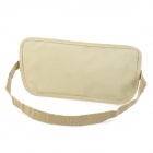 Outdoor Traveling Multi-Functional Nylon Waist Bag - Khaki (3L)