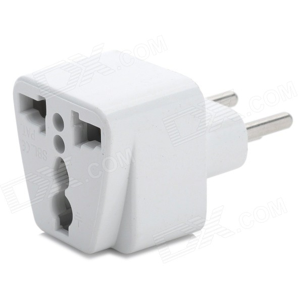 Switzerland universal adaptador de CA - blanco
