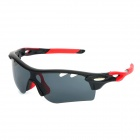 OREKA WG565 Cycling Sport UV400 Protection Polarized Goggles - Black + Red