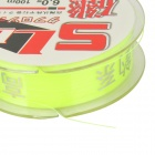 6.0# Nylon SL Fishing Line / Thread - Fluorescent Yellow (100m)