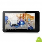 "FSL 730 7 ""ecrã capacitivo Android 4,1 Dual Core Tablet PC w / TF / Wi-Fi / Câmera - Prata + Preto"