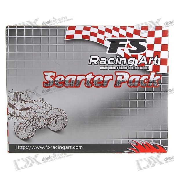 FS-Racing Art Complete Starter's Kit for R/C Nitro Gas Cars