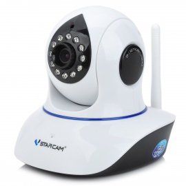 VSTARCAM T7838WIP 720p 1.0MP Wireless Network IP Surveillance Security Camera w/ 12-IR LED - White