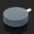 Pump Decor Air Bubble Disk Stones for Aquarium / Fish Tank - Grey + White (3 PCS)