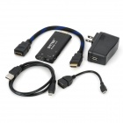 DITTER V12 Android 4.1 Mini PC Google TV Stick w/ Bluetooth 2.0 / Wi-Fi - Black (1GB RAM/8GB ROM)
