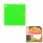 Square Shaped Silicone Heat Resistant Pad Mat - Green