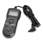 JJC TM-A LCD Timer Remote Shutter for Canon EOS DSLR/SLR Cameras (Canon RS-80N3/TC-80N3 Compatible)