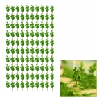 G3210 Decoration Tree Models - Green (16 x 12 x 1cm / 100 PCS)