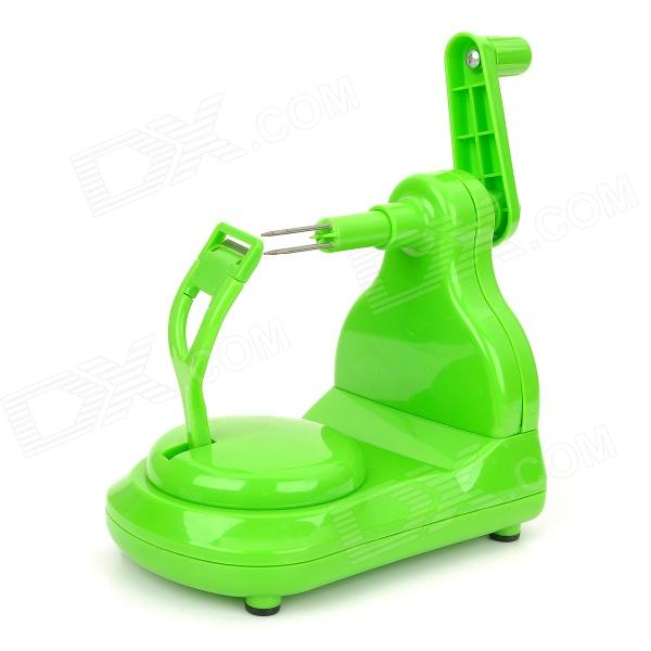 Creative ABS Apple Skin Peeler - Green green convenient manual apple peeler