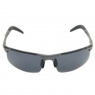 ReeDoon R8177 Polarized Resin Lens UV400 Protection Sunglasses - Gun-Grey + Grey