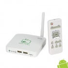 Jesurun J11C Android 4.0 Google TV Player w/ 300KP Camera / Microphone / 1GB RAM / 4GB ROM - White