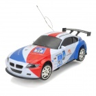 Zhencheng 333-XZ007B 3-CH Radio Control 360-Grad-Drehung Racing Car - White + Red + Blue + Black