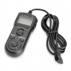 JJC TM-F LCD Timer Remote Shutter for Sony/Minolta SLR/DSLR Cameras (RM-S1AM/RM-S1LM Compatible)