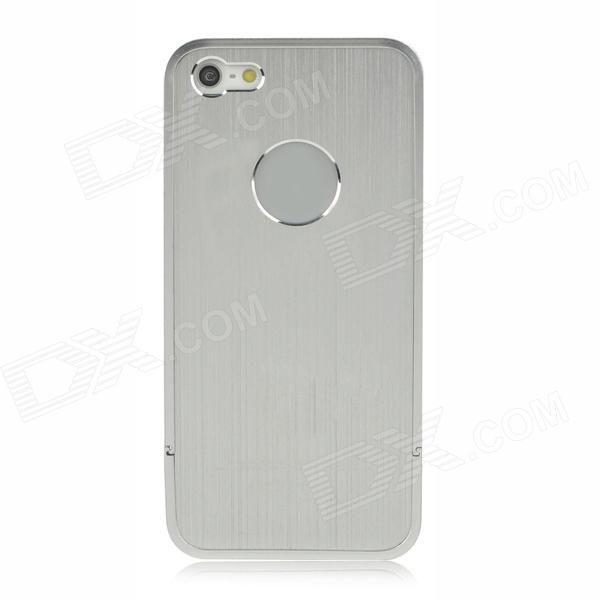Detachable 3-in-1 Aluminum Alloy Back Case for Iphone 5 - Silver