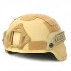 Tanluren SW2143 Tactical Pure Steel War Game Helmet - Sand