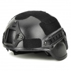 Tanluren SW2142 Tactical ABS War Game Helmet - Black