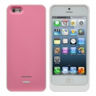 Rechargeable 2600mAh Power Bank External Battery w/ USB Charging Cable for iPhone 5 - Pink + Black