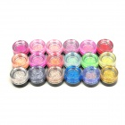 18-in-1 Glitter UV Gel for Nail Art - Multicolored