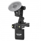 "LSON P5000 2.0"" TFT LCD 1.3MP Wide Angle Car DVR Camcorder w/ 2-LED Night Vision - Black (NTSC/PAL)"