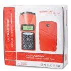 "CPTCAM CP-3003 1.8"" LCD Ultrasonic Distance Measuring Meter - Red + Black (1 x 9V 6F22)"