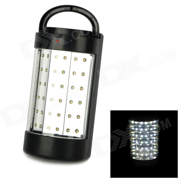 TOKUYI Rechargeable 36-LED White Light Led Camping Lantern Light - Black