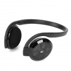 Bluejoy W168 Bluetooth v2.1 + EDR Stereo MP3 Player Headphones w/ TF - Black