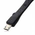 Micro USB Data Cable for Samsung - Black (8cm)