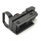 Увеличение 1x Red / Green Light Gun Dot Sight - Черный