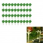 Dekoration Baum Models - Green (40 PCS)