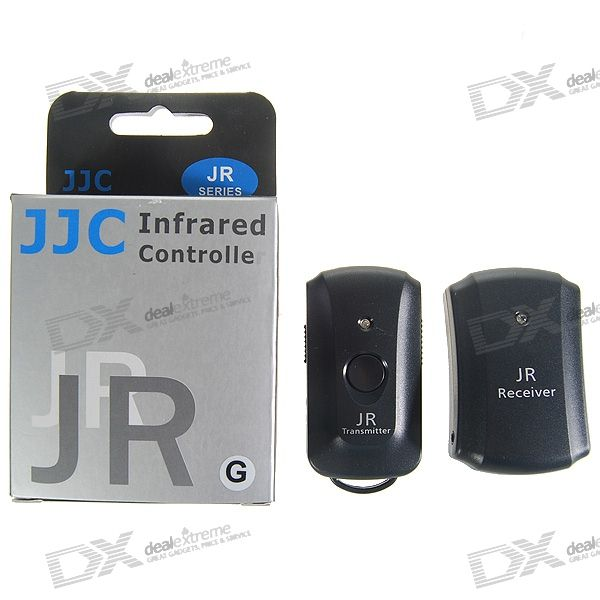 JJC JR-G Infrared Shutter Remote for Nikon D70S/D80 Digital SLR Cameras