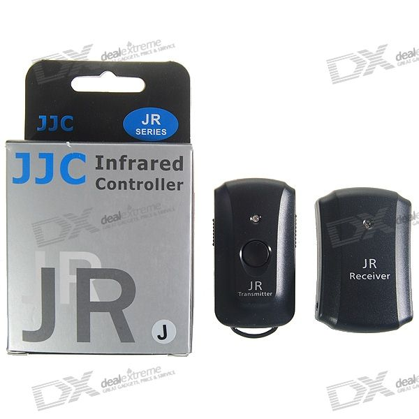 JJC JR-J InfraRed Shutter Remote for Olympus SP-510 UZ/E400 + More Digital SLR Cameras