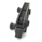 Gun Metal Handle Mount w / Vista para M4 ~ M16 - Negro
