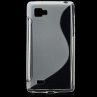 Protective TPU Case for LG P880 (Optimus 4X HD) - Transparent