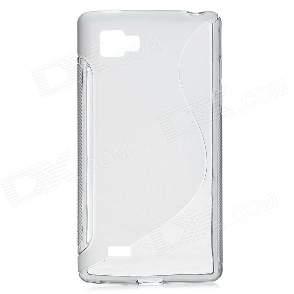 Protective TPU Case for LG P880 (Optimus 4X HD) - Grey genuine replacement touch screen digitizer for lg p880 optimus 4x hd black