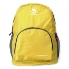hasky CY-0973 Outdoor Mountaineering / Hiking Foldable Nylon Backpack Bag - Yellow (28L)