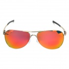OREKA 4049 Retro Fashion Man's UV400 Protection Polarized Sunglasses - Silver