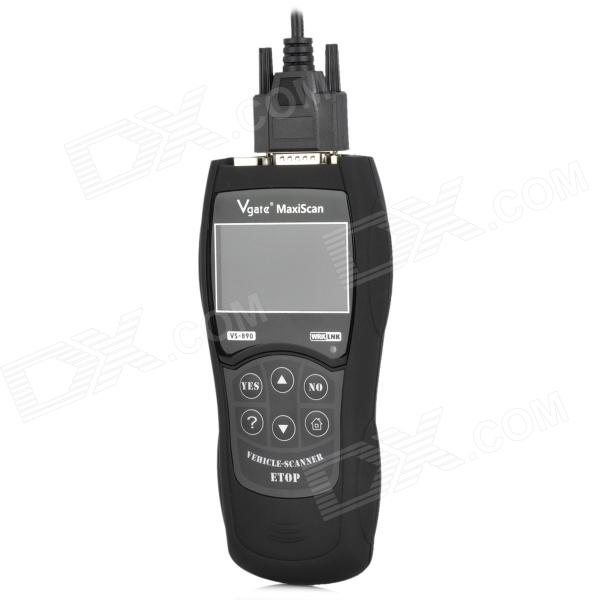 "3 ""LCD Interface OBD2 Módulo de Diagnóstico Scanner Tool Car - Negro"