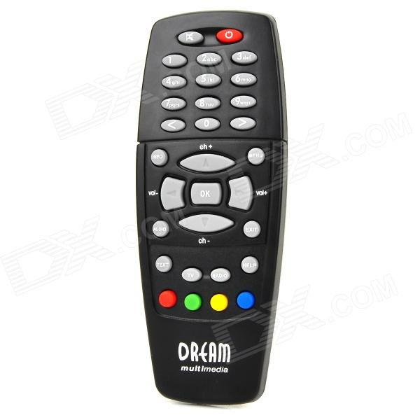 controlador remoto para DM528 dreambox DM500 DM518 - preto (2 * AAA)