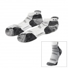 KAILAS KG802262 Outdoor Sports Perspiration Polyester Men's Socks - Light Grey (Size L)