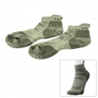 KAILAS KG802262 Outdoor Sports Schweiß Polyester Herrensocken - Light Green (Größe L)