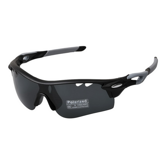 OREKA WG565 Sport Cycling UV400 Protection Sunglasses Goggles - Black + Grey