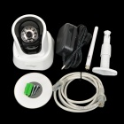 "Free DDNS Ontop RT8028-HD 1/4"" CMOS 1.0MP Network IP Camera w/ 10-IR LED / Pan / Tilt Motors - White"
