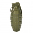 Classic CF Antitank Grenade Shaped 3-Sections Retractable Ballpoint Pen - Army Green