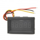 5-Digit 0~33V Trip-Wire Digital Voltmeter - Black