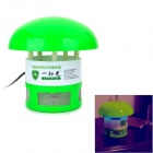 JingDing A1 Environmental-Friendly Efficient Photo-catalysis Mosquito Killer - Green + White