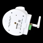"Free DDNS Ontop RT8633 1/4"" CMOS 0.3 MP Indoor Network IP Camera w/ 10-IR LED - White"
